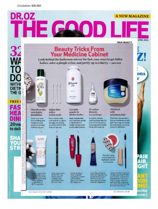 Dr. Oz The Good Life Feature