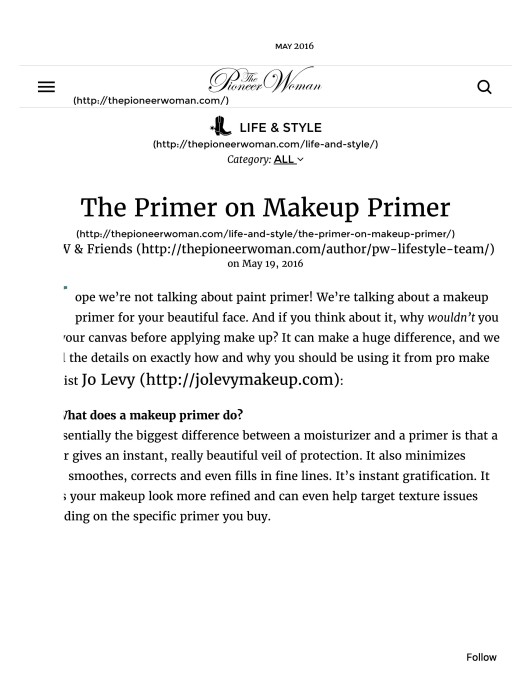 Life & Style - The Pioneer Woman May 2016-page-001